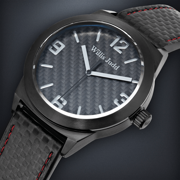 Black PVD with Black Carbon Fiber