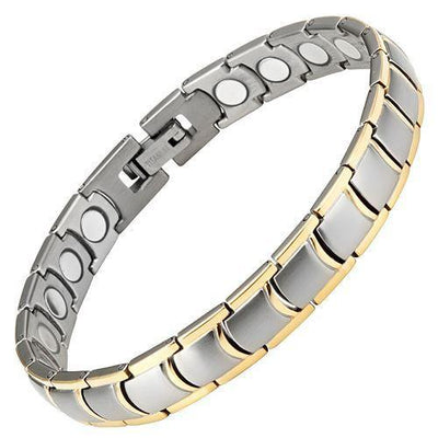 Willis Judd Ladies Titanium Magnetic Bracelet with Free Adjuster
