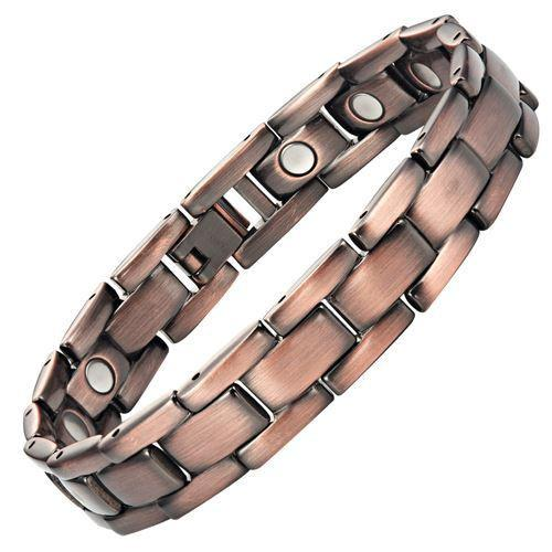 New Mens Magnetic Bracelet with Free Adjuster and Gift Box
