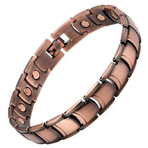 New Mens Magnetic Bracelet with Free Adjuster and Velvet Gift Box