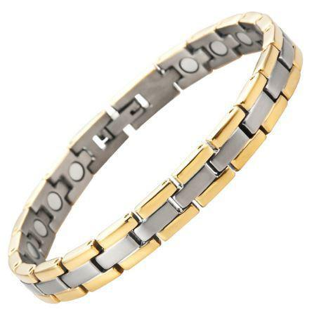 New Ladies Titanium Magnetic Bracelet Free Adjuster Gift Box