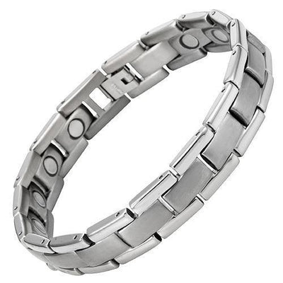 New Mens Titanium Magnetic Golf Bracelet Free Adjuster and Gift Box