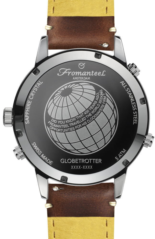 Globetrotter Moon Phase White