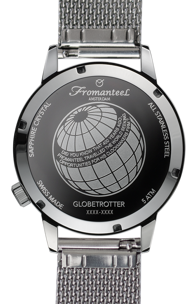 Globetrotter GMT White