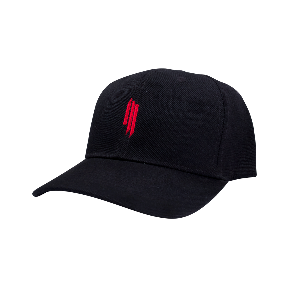 ILL LOGO DAD HAT - BLACK