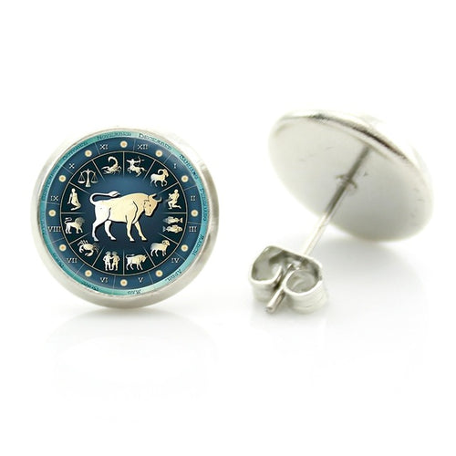 Taurus Stud Earrings
