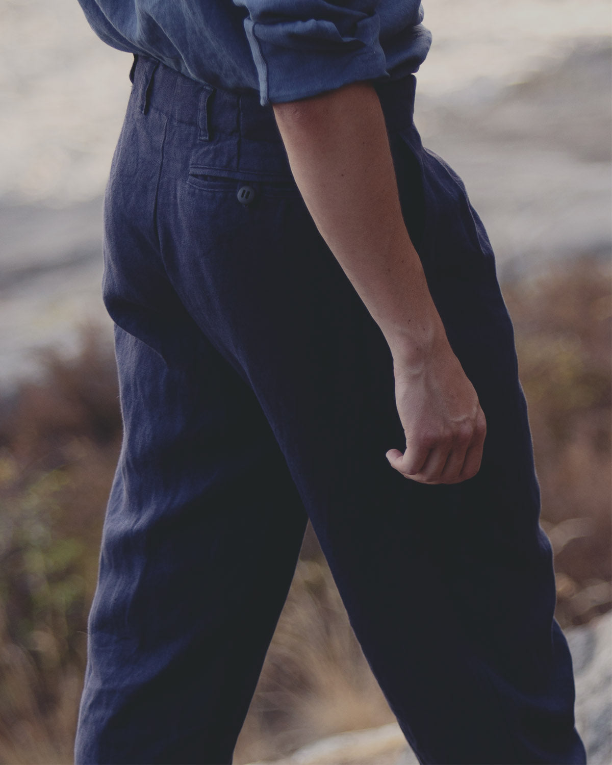 Winner Winner Trousers - Navy