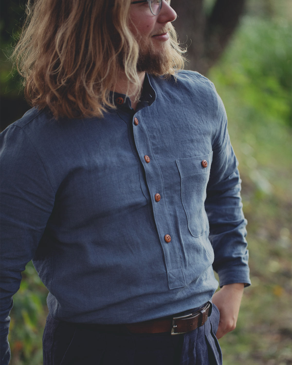 The Dayseizer Shirt - Blue