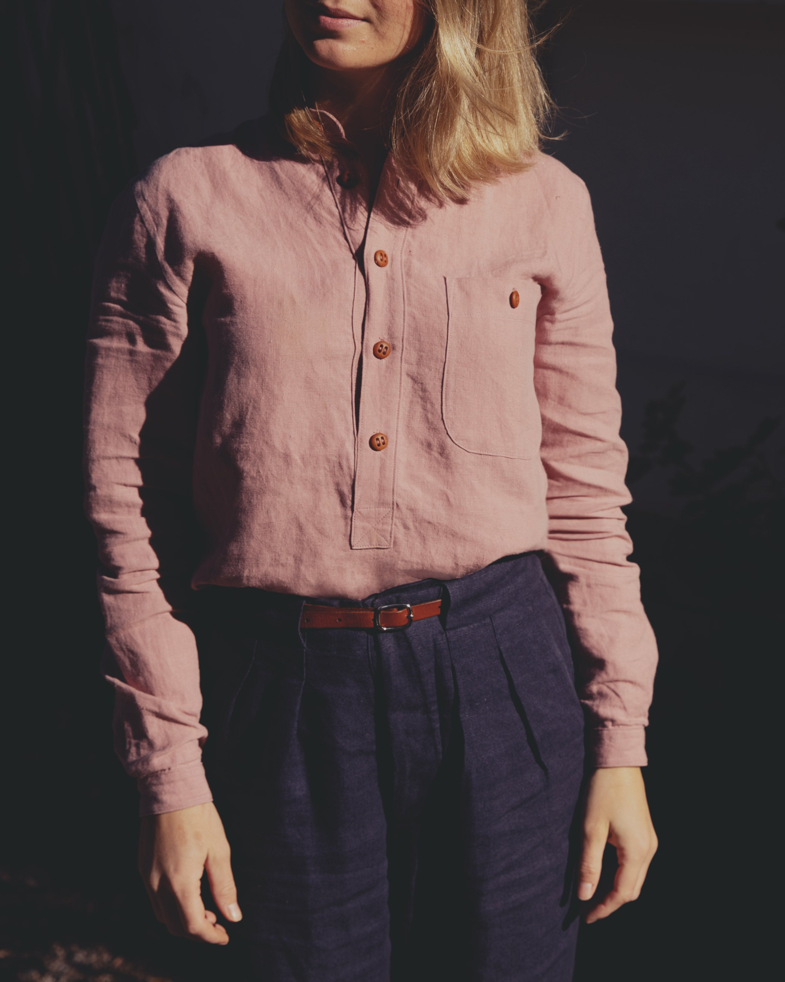 The Dayseizer Shirt - Rose