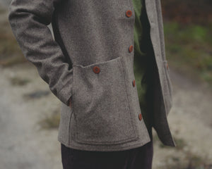 Heavy Felt Jacket - Natural