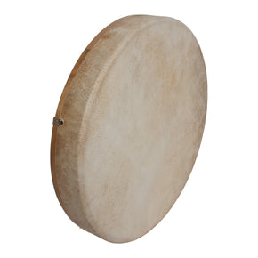 "DOBANI Tunable Goatskin Head Wooden Frame Drum w/ Beater 14""x2"""