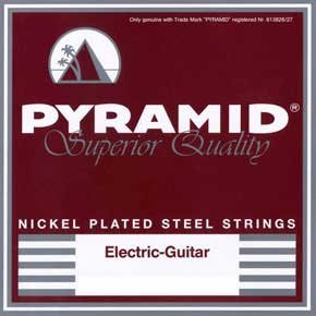 Pyramid Nickel-Plated Steel Round Wound, light  431 100 Electric guitar strings