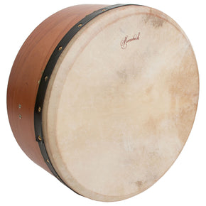 Roosebeck Tunable Red Cedar Bodhran Single-Bar 16-by-7-Inch