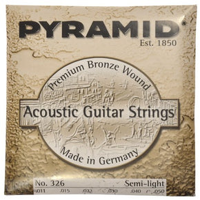 Pyramid 326 Acoustic  Guitar string Premium Phosphor Bronze Semi-Light 11-50