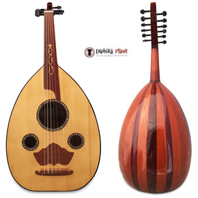 "El-Masry ""The Egyptian Hart"" Professional Egyptian Oud + Professional Case - Cat#M6"