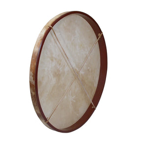 "DOBANI Pretuned Goatskin Head Wood Frame Drum w/ Beater 30""x2"""
