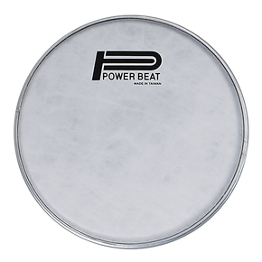 8.75''- Power Beat Drum Drum Head Imitation Lamb Suede Drum (White Fabric) Head 0.188mm Collar /0.5''- For Darbuka/Doumbek Classic Size