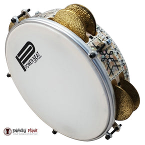 Pro Riq Tambourine Mosaic GAWHARET EL FAN Drum #RE-500