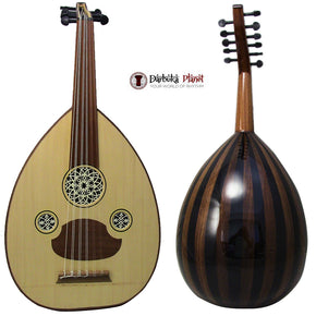 "Amazing!! Beginner Turkish Oud ""The Turkish Butterfly "" + Soft Case - Cat#166C - Blemish"