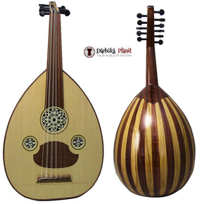 "Amazing!! Beginner Turkish Oud ""The Turkish Butterfly +"" + Soft Case - Cat#166C2"