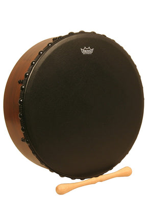 "Remo Irish Bodhran w/ Acousticon Shell and Bahia Bass Head, 14""x4.5"""