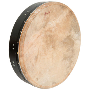 Roosebeck Tunable Mulberry Bodhran T-Bar 18-by-3.5-Inch - Black