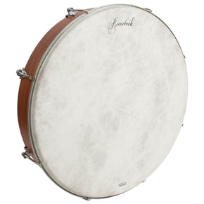 Roosebeck Outside Tunable Red Cedar Bodhran Cross-Bar Fiberskyn Head 18-by-3.5-Inch