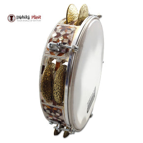 Pro Riq Tambourine Mosaic GAWHARET EL FAN Drum #RE-600
