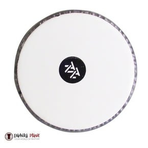 "8.5/8"" (8.62'') -White Zaza Percussion Drum Head  Collar /0.2'' 5MM - For Darbuka/Doumbek"