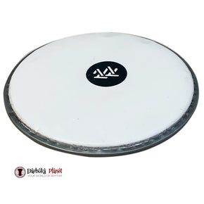 "8.5/8""-White Zaza Percussion Drum Head  Collar /0.2'' 5MM - For Darbuka/Doumbek"