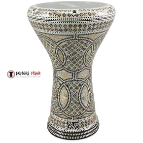 The 17'' Circles Star Egyptian Gawharet El Fan Darbuka Doumbek