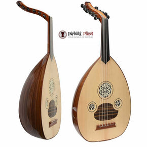 "Professional Turkish Oud ""Megic Star"" + Soft Case - Cat#166B-CE"