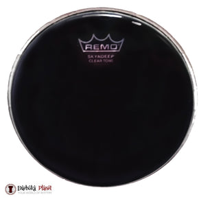 "Remo SKYNDEEP Doumbek Head 8.75"" Black Smoke"