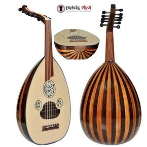 "The ""Turkish palace "" Top Level Professional Oud + Soft Case - Cat#LS201"