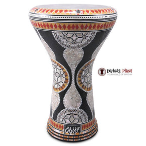 "The Black Gate Gawharet El Fan 17"" Mother of Pearl Darbuka"