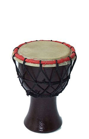 Mini Indian DJEMBE WOODEN Tribal Doumbek
