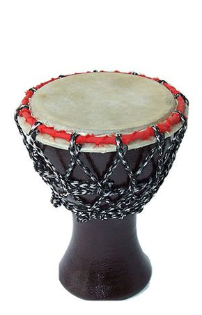 Small Indian Djembe Tribal Wooden Drum