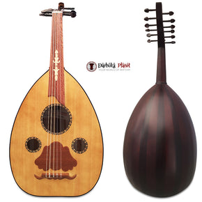 "El-Masry ""The Egyptian Spirit"" Professional Egyptian Oud + Professional Case - Cat#M9"