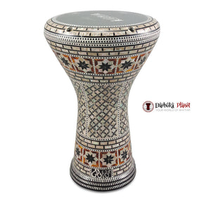 The 17'' The Brown Line Gawharet El Fan Darbuka Doumbek