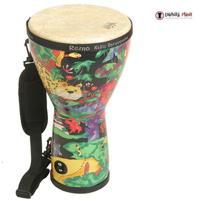"8"" X 15"" Remo Kids Percussion Rain Forest Djembe"
