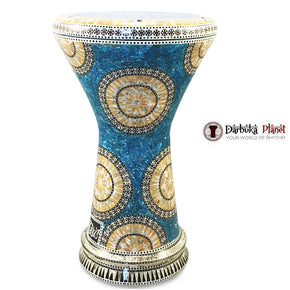 "The Blue Lagoon NG 2.0 Sombaty Gawharet El Fan 18.5"" Darbuka"