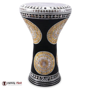 "The Golden Sun Gawharet El Fan 17"" Mother of Pearl Darbuka"