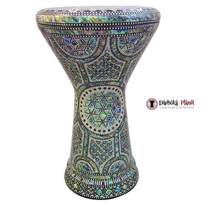 "The Green Star NG 2.0 Sombaty Gawharet El Fan 18.5"" Darbuka With Real Green Mother of Pearl"