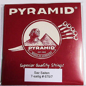 Pyramid 7- strings Saz Baglama Strings (Long Neck)