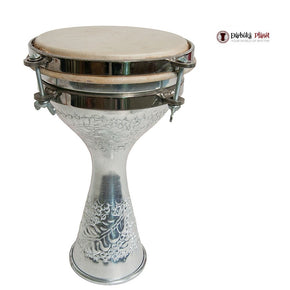 "5"" X 8"" Tunable Aluminum Turkish Finger Doumbek"