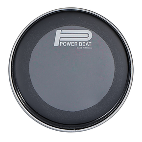 "8.75"" Black Power Beat Drum Drum Head Double Oily Collar /0.5''- For Darbuka/Doumbek"