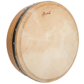Roosebeck Tunable Mulberry Bodhran T-Bar 14-by-3.5-Inch