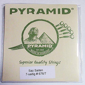 Pyramid 7- strings Saz Baglama Strings (Short Neck)