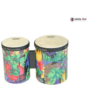 "5"" and 6"" Remo Kids Percussion Rain Forest Bongos"