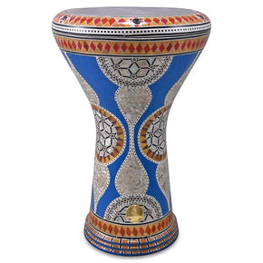"The Blue Gate Gawharet El Fan 17"" Mother of Pearl Darbuka"